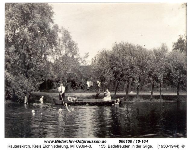 Rauterskirch, 155, Badefreuden in der Gilge