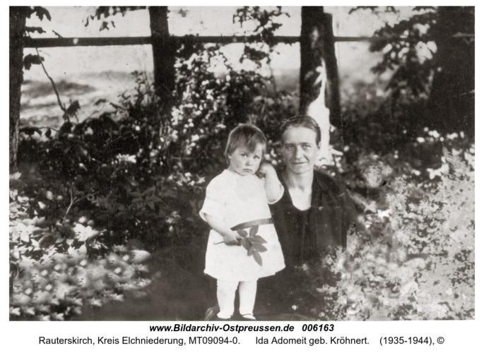 Rauterskirch, Ida Adomeit geb. Kröhnert
