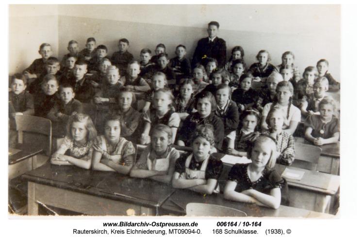 Rauterskirch, 168 Schulklasse