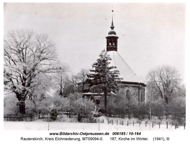 Rauterskirch, 187, Kirche im Winter