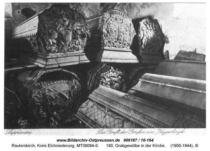 Rauterskirch, 190, Grabgewölbe in der KIrche