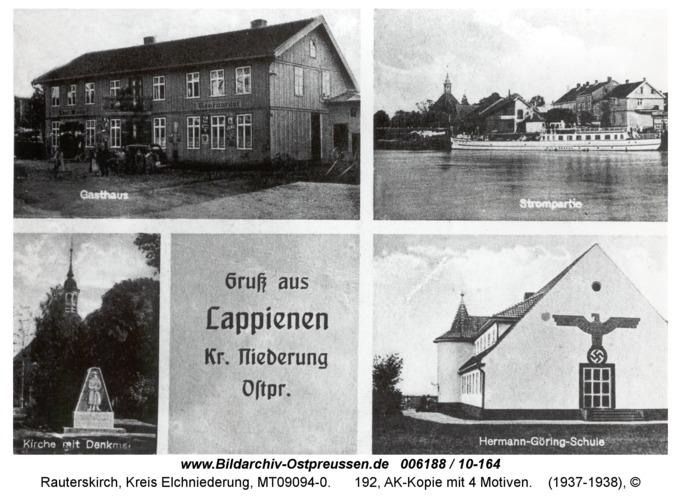 Rauterskirch, 192, AK-Kopie mit 4 Motiven
