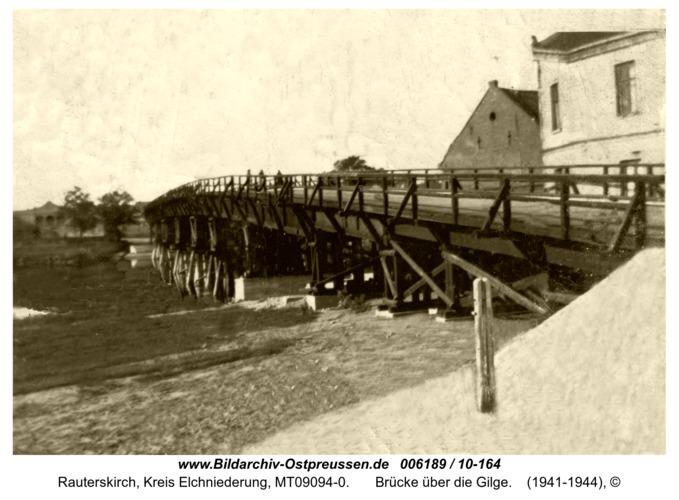 Rauterskirch,  Brücke über die Gilge