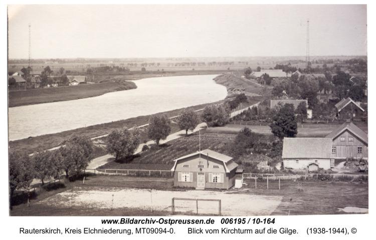 Rauterskirch, Blick vom Kirchturm auf die Gilge