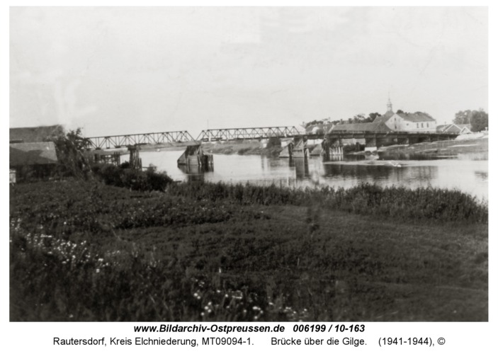 Rautersdorf, Brücke über die Gilge