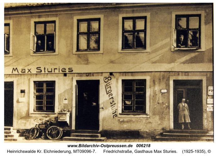 Heinrichswalde, Friedrichstraße, Gasthaus Max Sturies