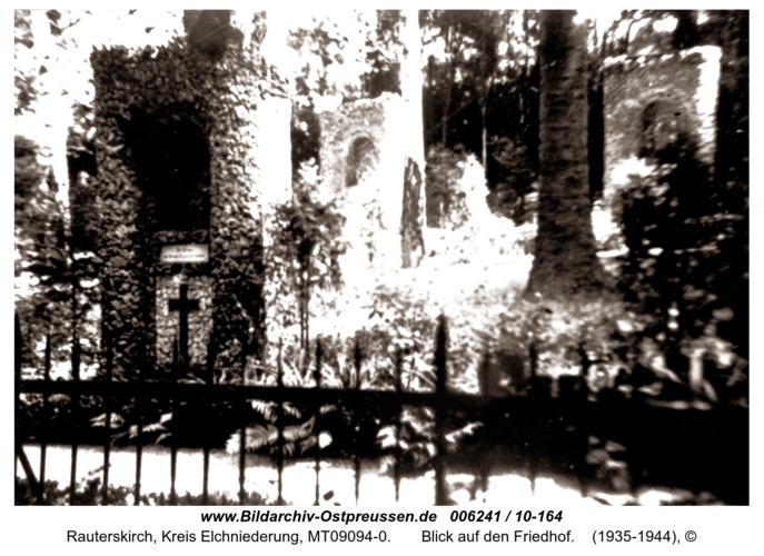 Rauterskirch,  Blick auf den Friedhof