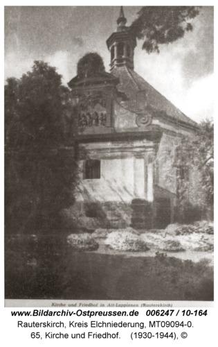 Rauterskirch, 65, Kirche und Friedhof