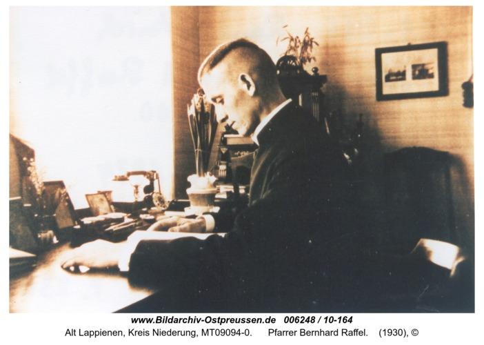 Rauterskirch, Pfarrer Bernhard Raffel