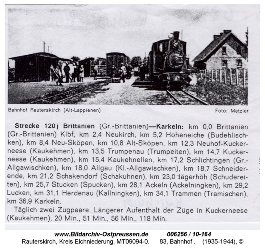 Rauterskirch, 83, Bahnhof