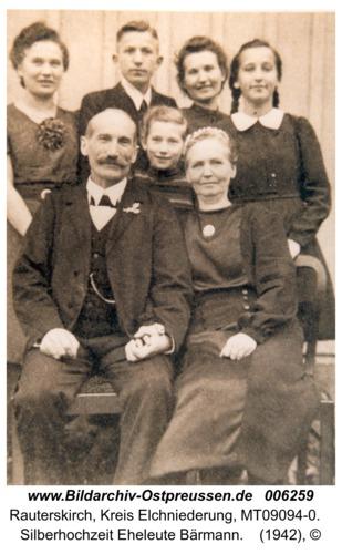 Rauterskirch, Silberhochzeit Eheleute Bärmann
