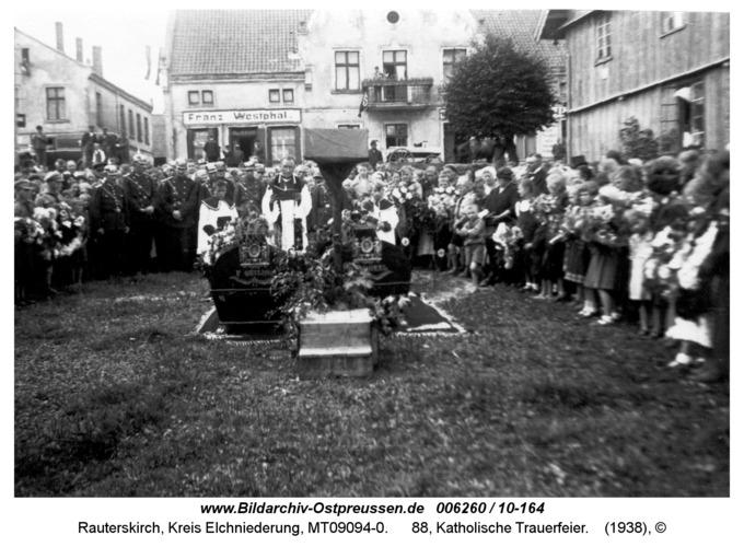 Rauterskirch, 88, Katholische Trauerfeier