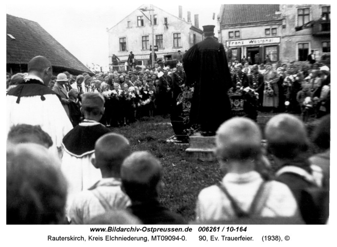 Rauterskirch, 90, Ev. Trauerfeier
