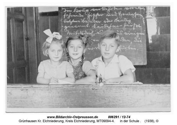 Grünhausen, in der Schule