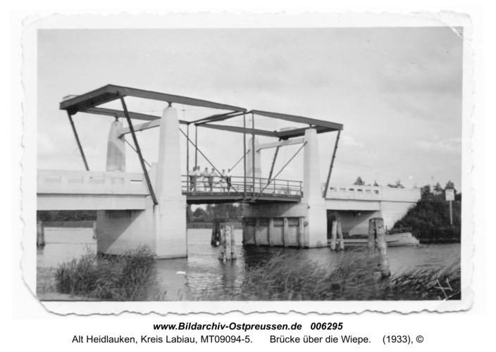 Wiepenheide, Brücke über die Wiepe