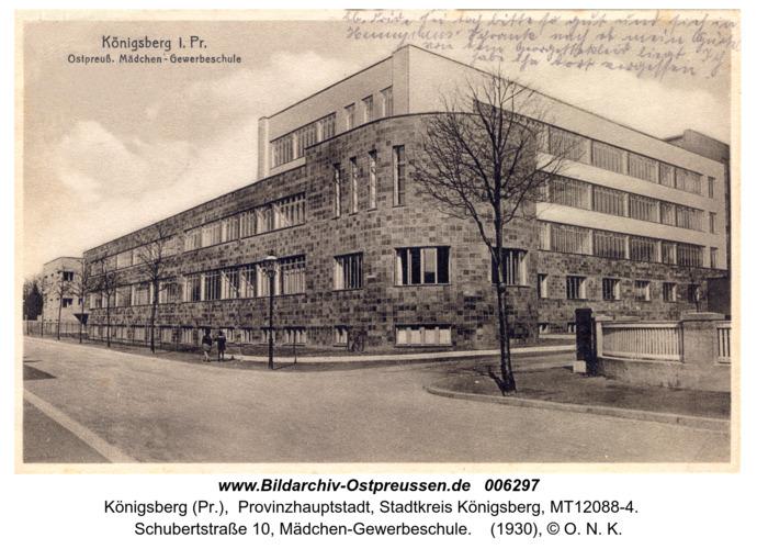 Königsberg, Mädchen-Gewerbeschule