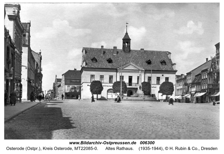 Osterode, Altes Rathaus