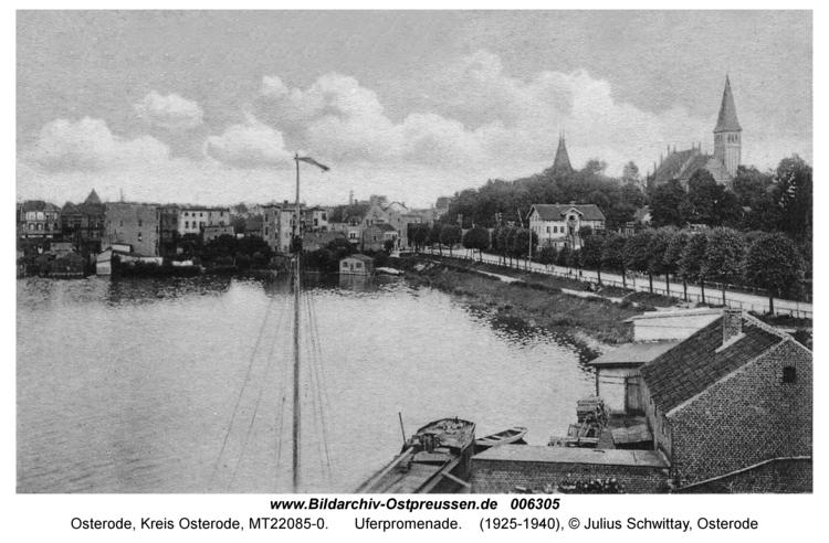 Osterode, Uferpromenade