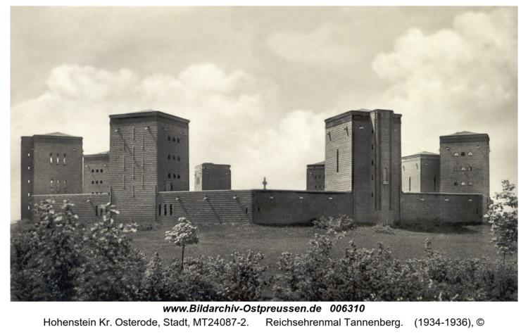 Hohenstein Kr. Osterode, Reichsehrenmal Tannenberg