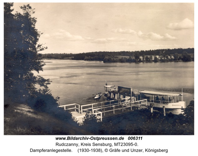 Niedersee, Dampferanlegestelle