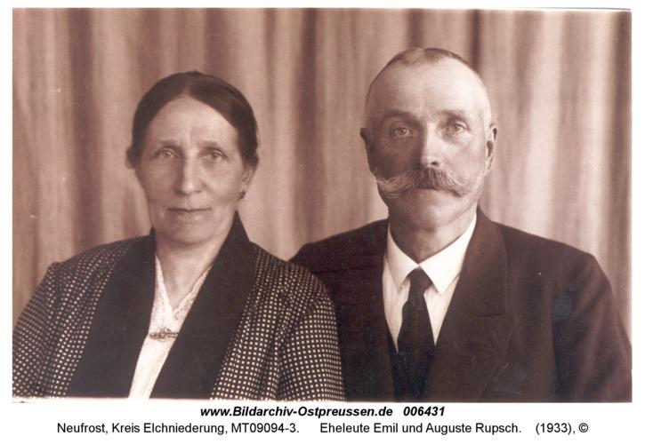 Neufrost, Eheleute Emil und Auguste Rupsch
