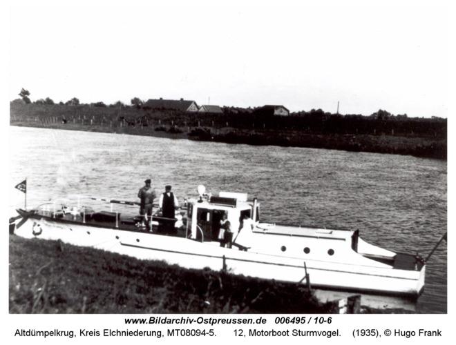 Altdümpelkrug, 12, Motorboot Sturmvogel