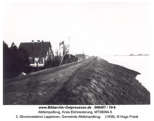 Altdümpelkrug, 3, Strommeisterei Lappienen, Gemeinde Altdümpelkrug