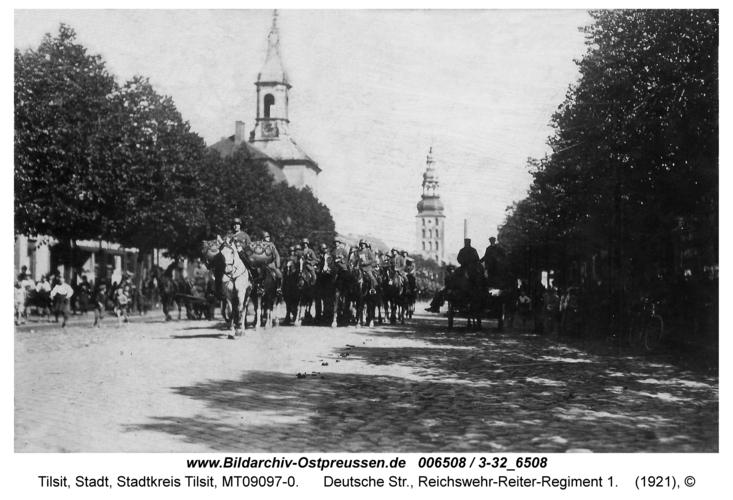 Tilsit, Deutsche Str., Reichswehr-Reiter-Regiment 1
