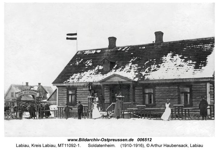 Labiau, Soldatenheim