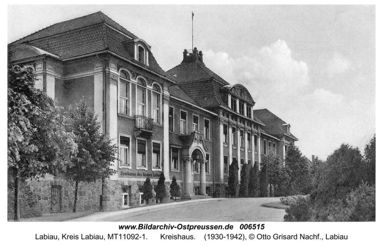 Labiau, Kreishaus