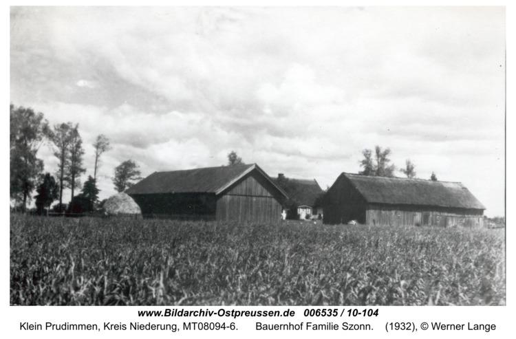 Kleinerlenrode, Bauernhof Familie Szonn