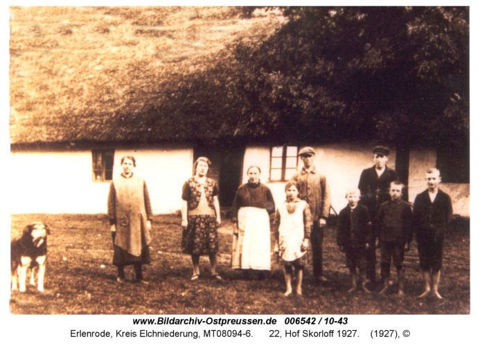 Erlenrode, 22, Hof Skorloff 1927