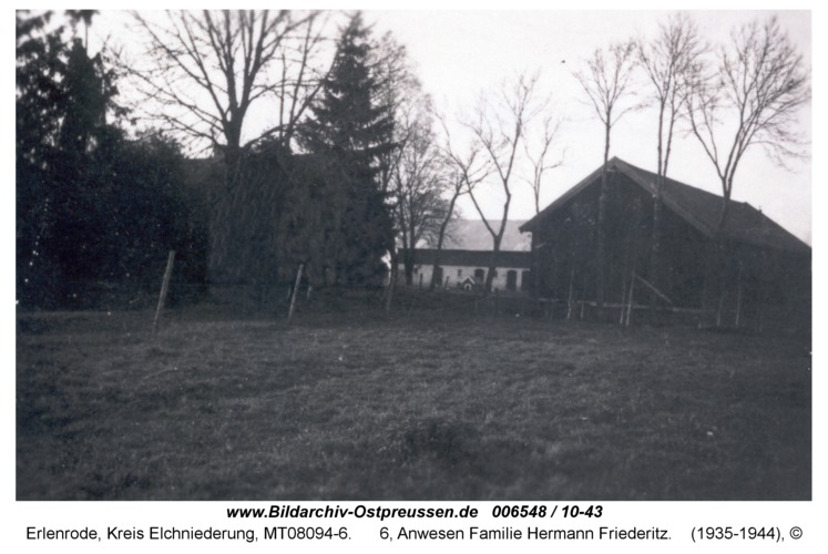 Erlenrode, 6, Anwesen Familie Hermann Friederitz