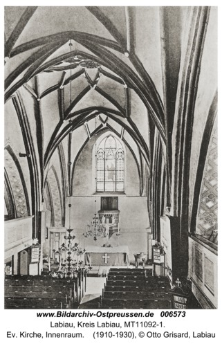 Labiau, Ev. Kirche, Innenraum