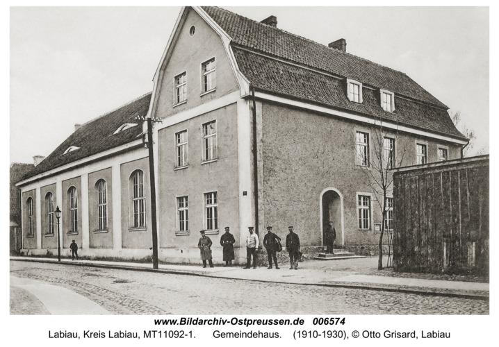 Labiau, Gemeindehaus