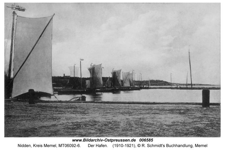 Nidden, Der Hafen