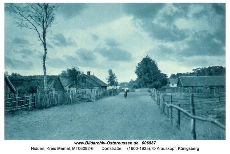 Nidden, Dorfstraße