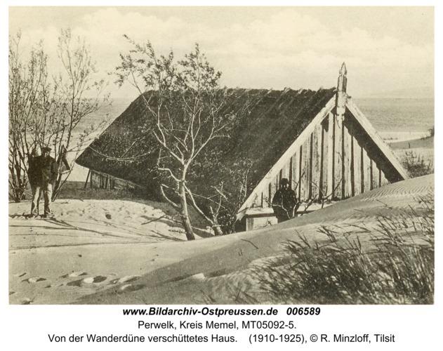 Perwelk, Von der Wanderdüne verschüttetes Haus