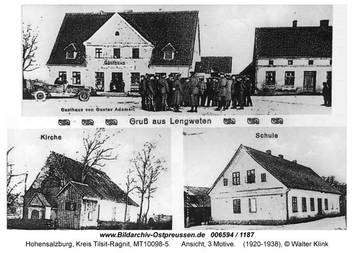Hohensalzburg, Ansicht, 3 Motive