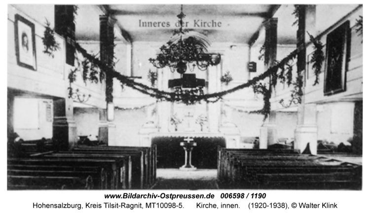 Hohensalzburg, Kirche, innen