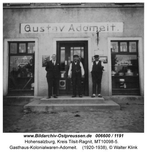 Hohensalzburg, Gasthaus-Kolonialwaren-Adomeit