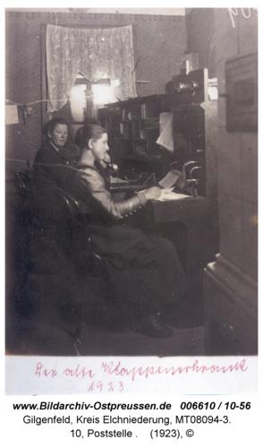 Gilgenfeld, 10, Poststelle
