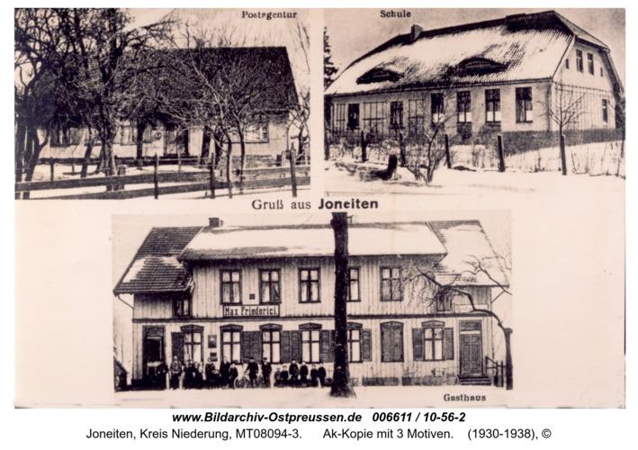 Gilgenfeld, Ak-Kopie mit 3 Motiven