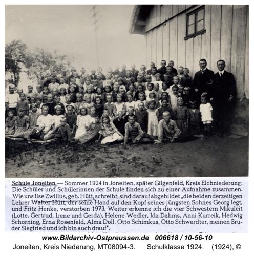 Gilgenfeld, Schulklasse 1924