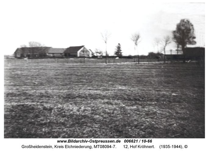 Großheidenstein, 12, Hof Kröhnert