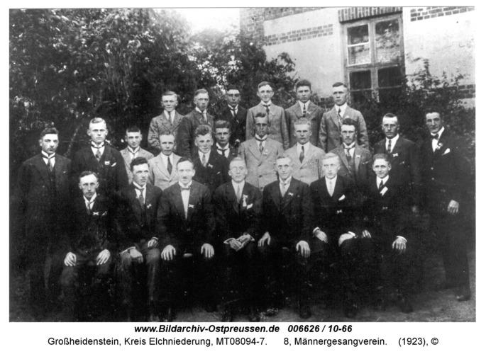 Großheidenstein, 8, Männergesangverein