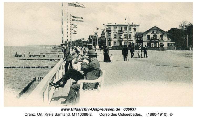 Cranz, Corso des Ostseebades