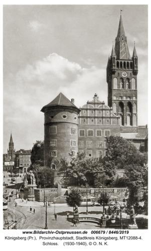 Königsberg, Schloss