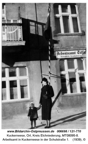 Arbeitsamt in Kuckerneese in der Schulstraße 1