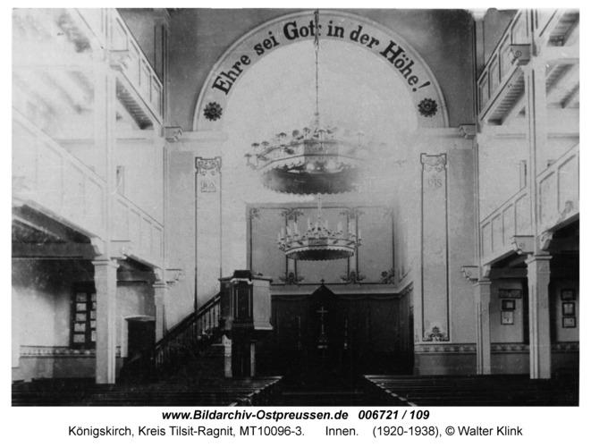Königskirch, innen